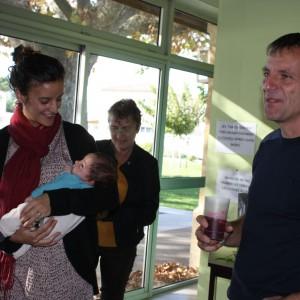 Marianne nous présente son petit Gabriel (2)