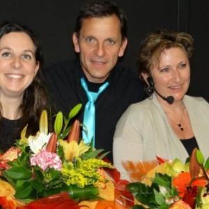 Cécile, Bernard et Nathalie