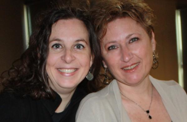 Cécile et Nathalie