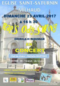 Concert à Milhaud
