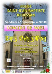 Concert de Noël 2017 à Redessan