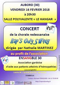 Concert en faveur de l'association Ensangble 30