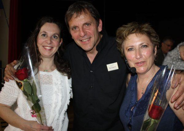 Cécile, Bernard, Nathalie