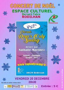 Concert de Noël à Rodilhan